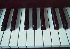 The keys on a piano are a physical representation of the sounds of our speech.