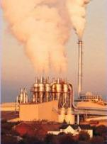 Industrial exhausts pump huge amounts of nitrogen into the atmosphere.