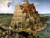The Tower of Babel story highlights the conflicts that can arise when people don't speak the same language.